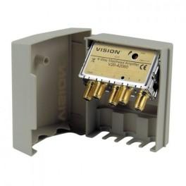 V20-42060 4-Way 20dB Variable Gain - High Energy Masthead Amplifier Ch21-60