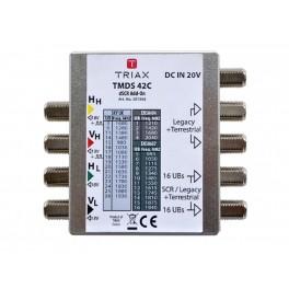 Triax TMDS42C dSCR / Legacy 2 way Multiswitch - Sky Q 370368